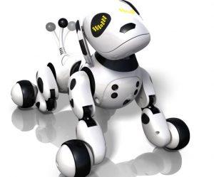 chien robot interactif