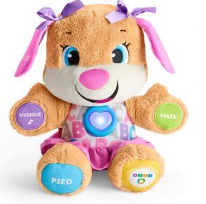 peluche interactive bébé fille